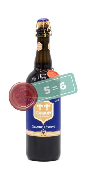 Chimay Grand Reserve Blauw 5 = 6