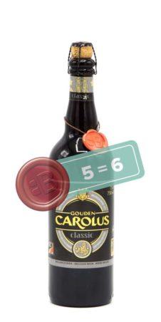 Gouden Carolus Classic 5 = 6