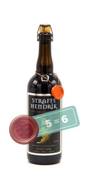 Halve Maan Straffe Hendrik Quadrupel 5 = 6